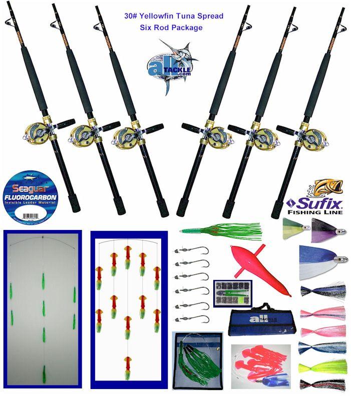 Vissenop tonijn soort for Deep sea fishing rods and reels for sale